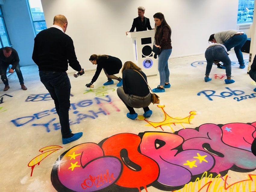 De Graffiti workshop