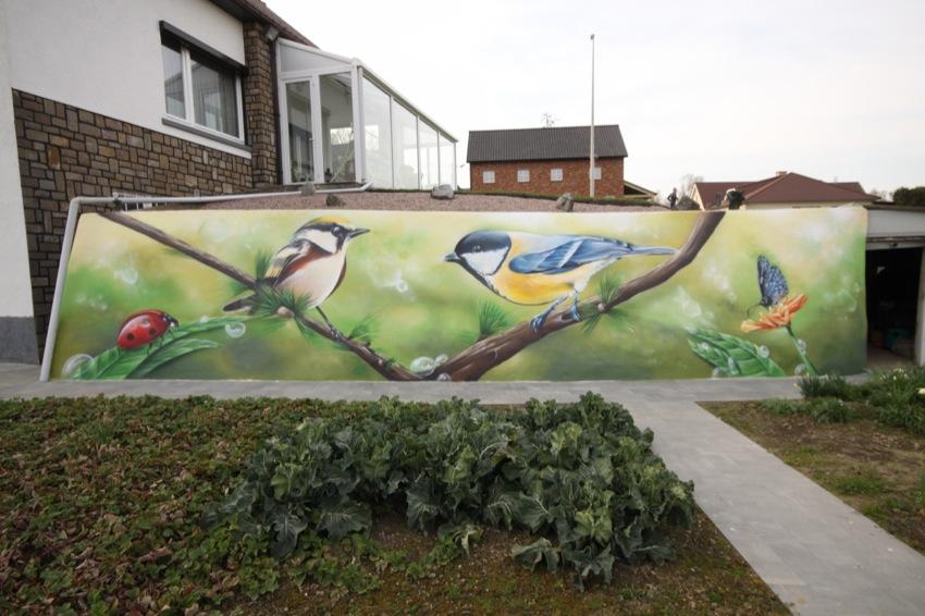 Graffiti muurschilderingen