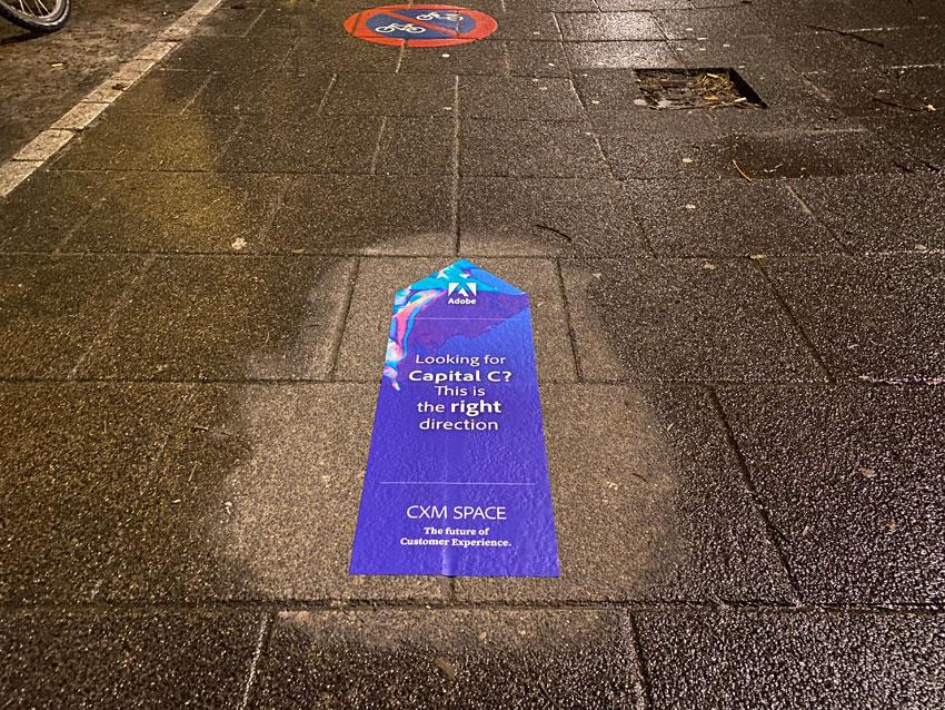 Straatsticker campagne